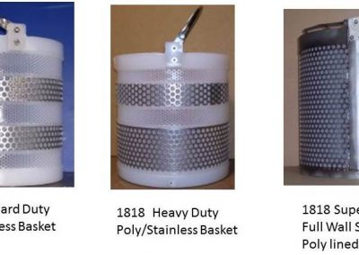 baskets 1818 Poly Stainless Baskets 130403